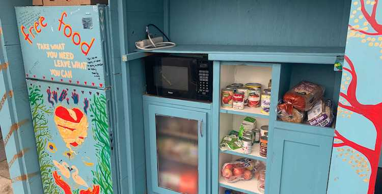 Feeding Families: Local Free Fridges and Pantries Address Food Insecurity